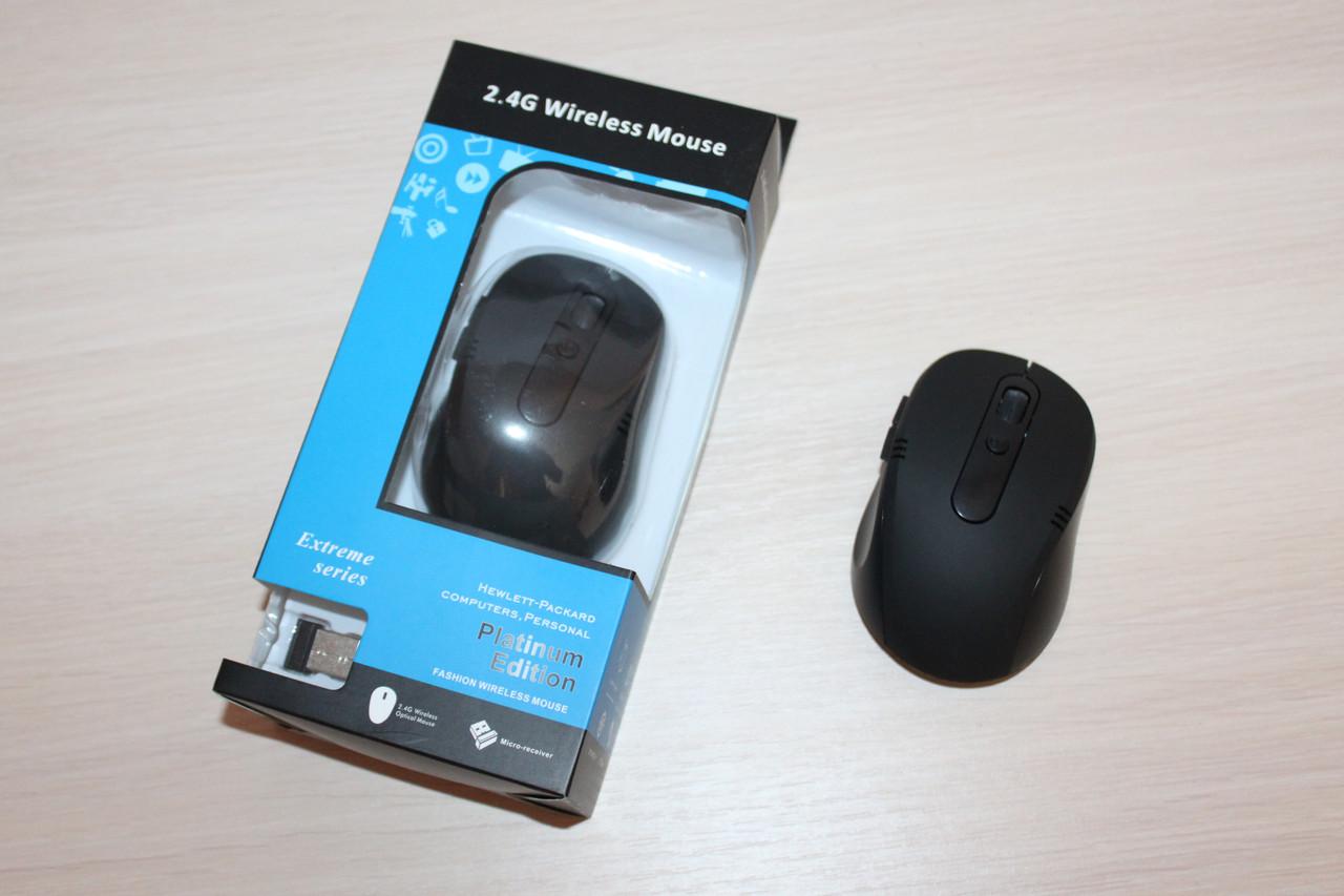Мышка iON Беспроводная 2.4 Ghz Black