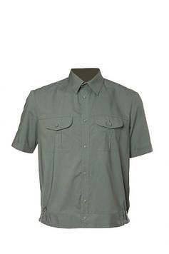 Рубашка форменная с коротким рукавом цвет полынь для НГУ, ЗСУ