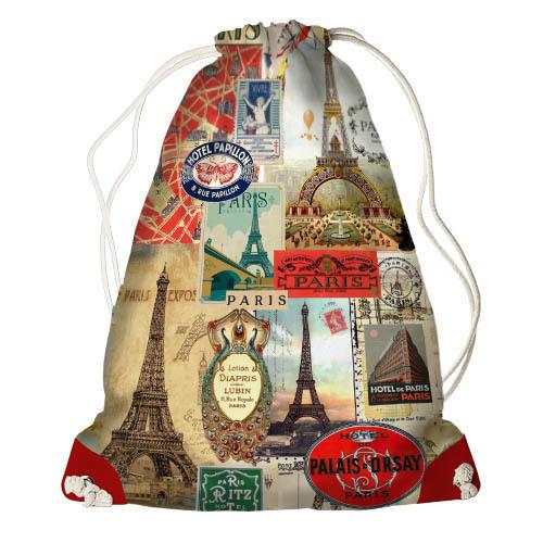 Рюкзак-мешок Франция, Эйфелева башня (RM_TRV005_KR)