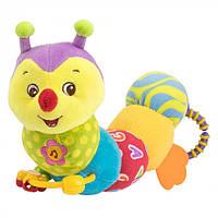 Мягкая игрушка-гусеница Baby Team Гусеничка (8535)