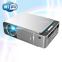 Портативный проектор Мультимедийный Wi-light Т6 WI-Fi проектор для дома школы кинопроектор мини видиопроектор