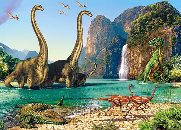 Пазлы Динозавры, 60 эл.