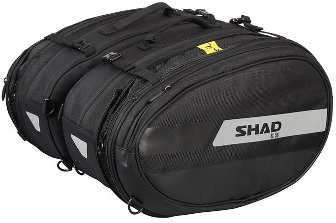 Cумки боковые SHAD SL58 black