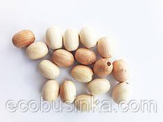 Можжевеловые бусины Овальные 16*13 мм