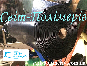 РУКАВ полиэтиленовый вторичный ЧЕРНЫЙ, шириной 650 мм, толщина 55 мкм