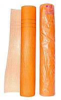 Сетка стекловолоконная фасадная (штукатурная) армирующая  5х5; 160гр/м2; 1мх50м