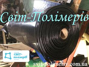 РУКАВ полиэтиленовый вторичный ЧЕРНЫЙ, шириной 650 мм, толщина 70 мкм