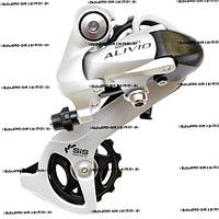 Переключатель задний, задняя перекидка Shimano ALIVIO RD-M410,серебро