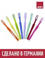 Зубные щетки MED COMFORT Ampri одноразовые с чистящей пастой 10 УП 1000 шт желтые
