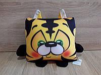 Антистрессовая игрушка - подушка Тигр Квадро