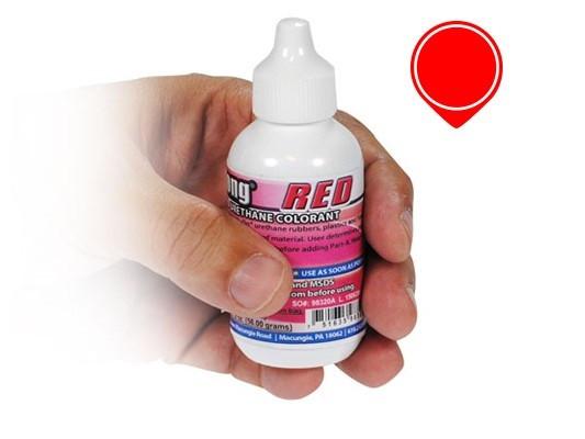 Краситель SoStrong (США) суперконцентрированный красный прозрачный, для смол и полиуретанов, пробник, 15 г