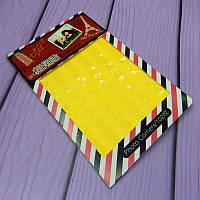 Уголки для фотоальбомов, ярко-жёлтые, 102 шт/уп