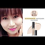 Консилер для лица  BioAqua Silky Skin Concealer, тон 02- Ivory, 1 шт, фото 3
