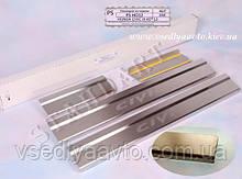 Защита порогов - накладки на пороги Honda CIVIC IX 4-дверка с 2012- (Standart)