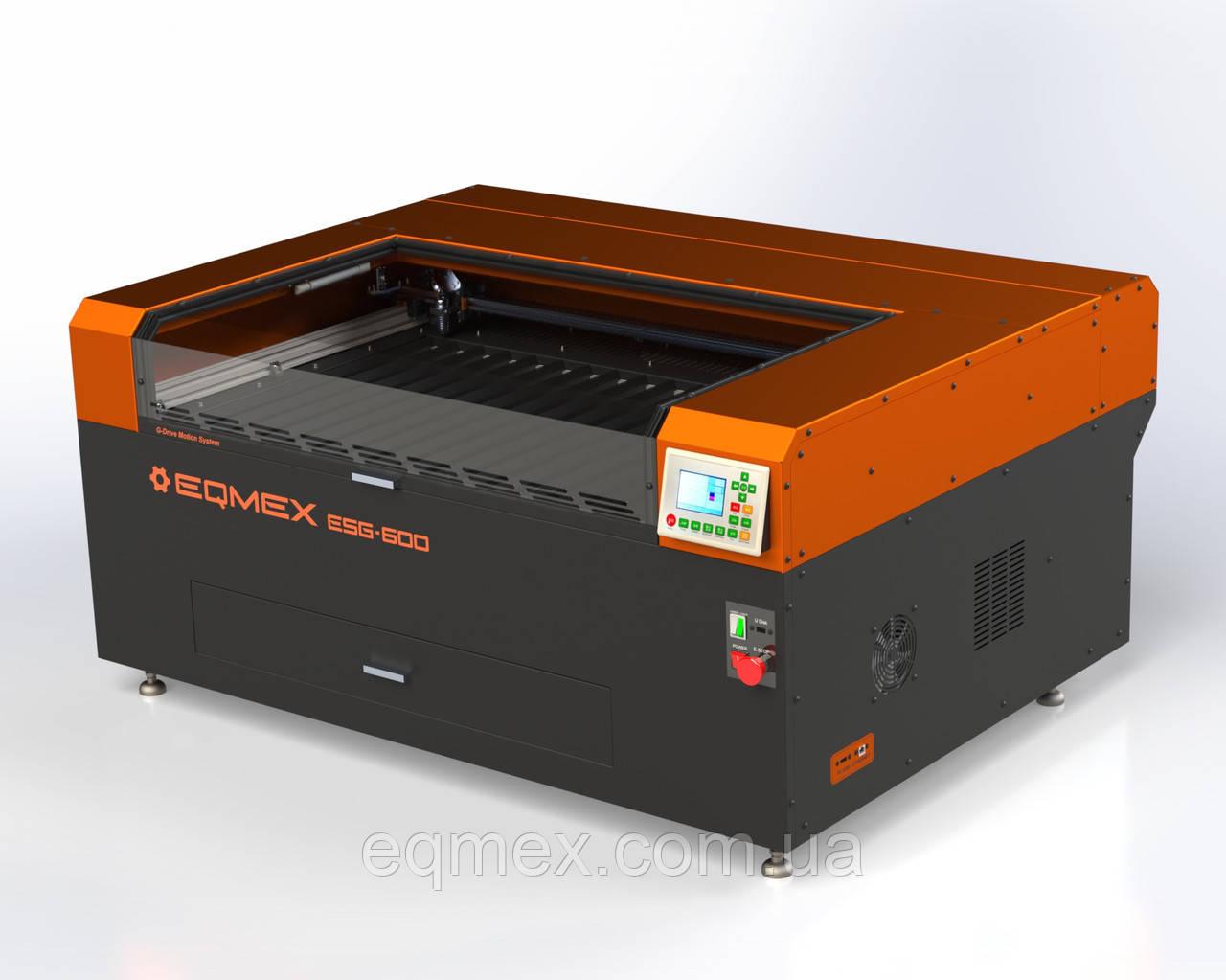 Лазерный станок для Резки и Гравировки Laser ESG-600-SE CO2 - 75Вт (4495$)