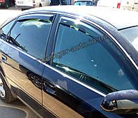 Ветровики, дефлекторы окон Audi A6 2004-2011 sed кузов (C6) (HIC)