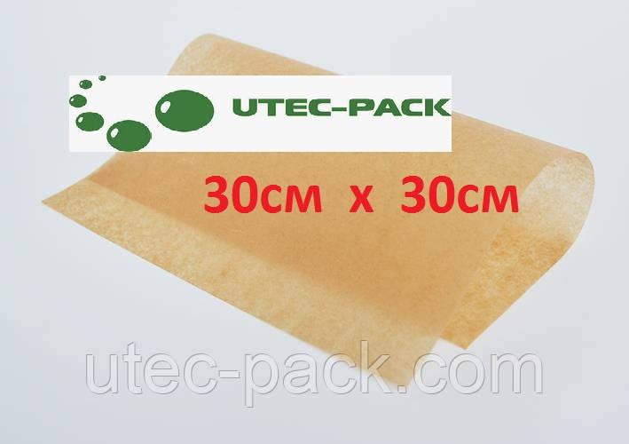 Пергаментная бумага для   заморозки  в листах формата  300мм*300мм