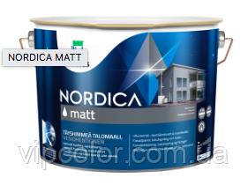 TEKNOS NORDICA MATT Краска акрилатная для наружных работ 2,7л База 3