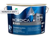 TEKNOS NORDICA MATT Матовая краска для дерева 9л База 3