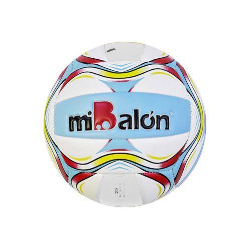"""Мяч волейбольный """"miBalon"""", 280 грамм (голубой)"""