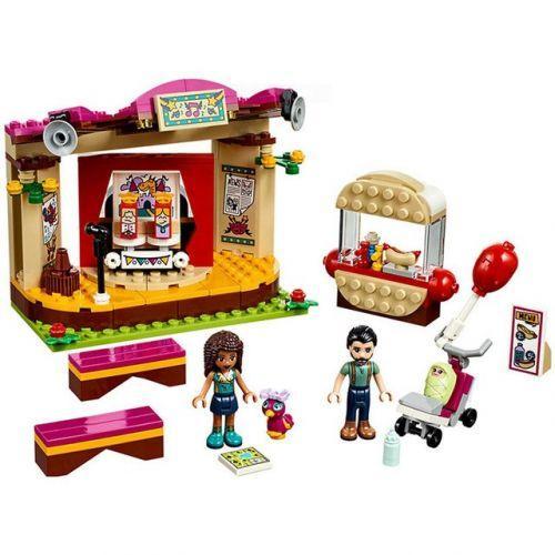 """Конструктор для девочек """"Bela 10855 Friends: Выступление в парке"""", 233 детали (аналог Лего)"""