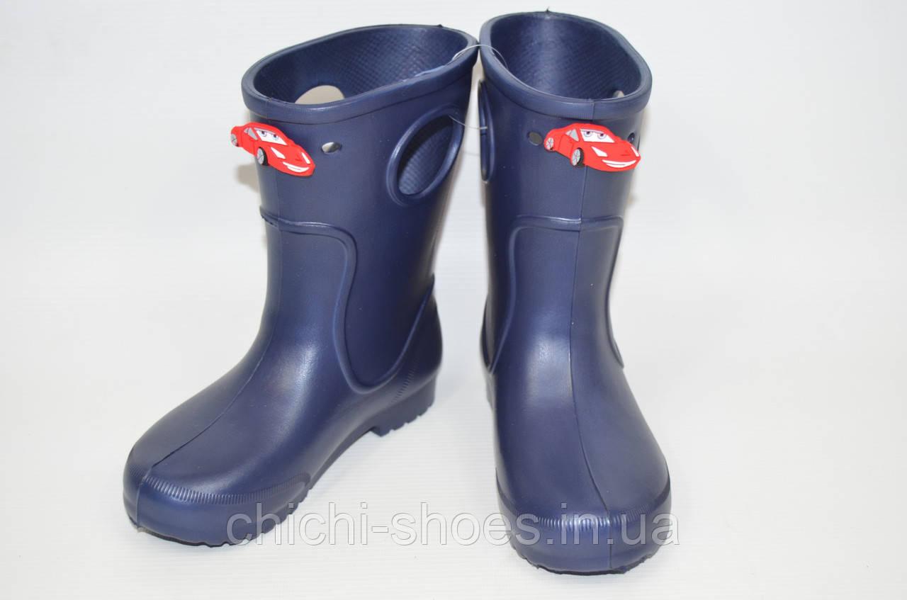 Сапоги-кроксы детские тёмно синие Jose Amorales 116600
