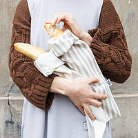 Мешочек для багета, мешочек для хлеба, корзина для хлеба, сумка для хлеба, фото 1