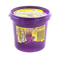 """Кинетический песок """"KidSand"""", фиолетовый, 1200 г"""