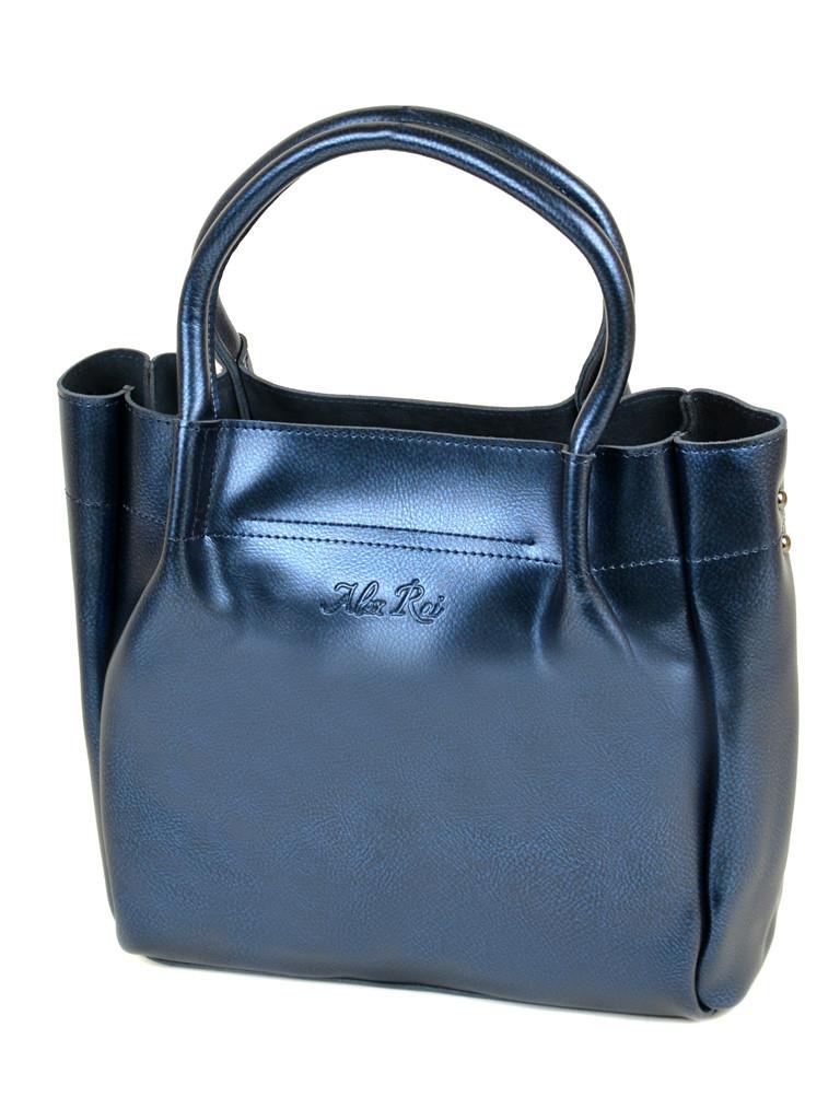 Сумка Женская Классическая кожа ALEX RAI 10-04 8903 bright-blue