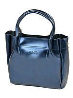 Сумка Женская Классическая кожа ALEX RAI 10-04 8903 bright-blue, фото 1