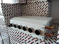 Обігрівач автомобільний 12 в 6 отворів, додаткова пічка на машину