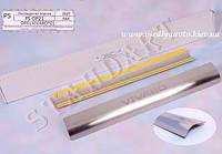 Защита порогов - накладки на пороги Opel VIVARO с 2001 г. (Standart)