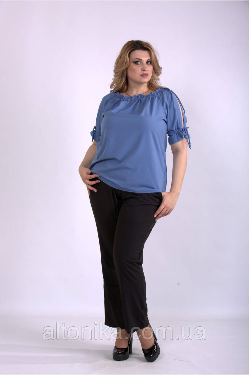 Женский костюм: брюки и блузка | 42-74