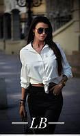 """Рубашка женская софт со значком размеры 42-46 (2цв) """"BARBARIS"""" купить недорого от прямого поставщика, фото 1"""