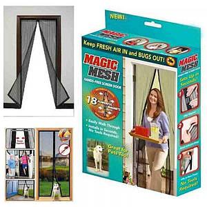 Противомоскитные магнитные шторы коробка Magic Mesh 131601