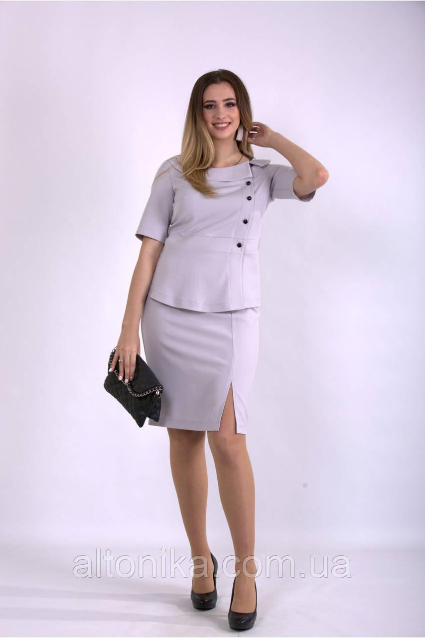 Женский костюм двойка делового стиля | 42-74