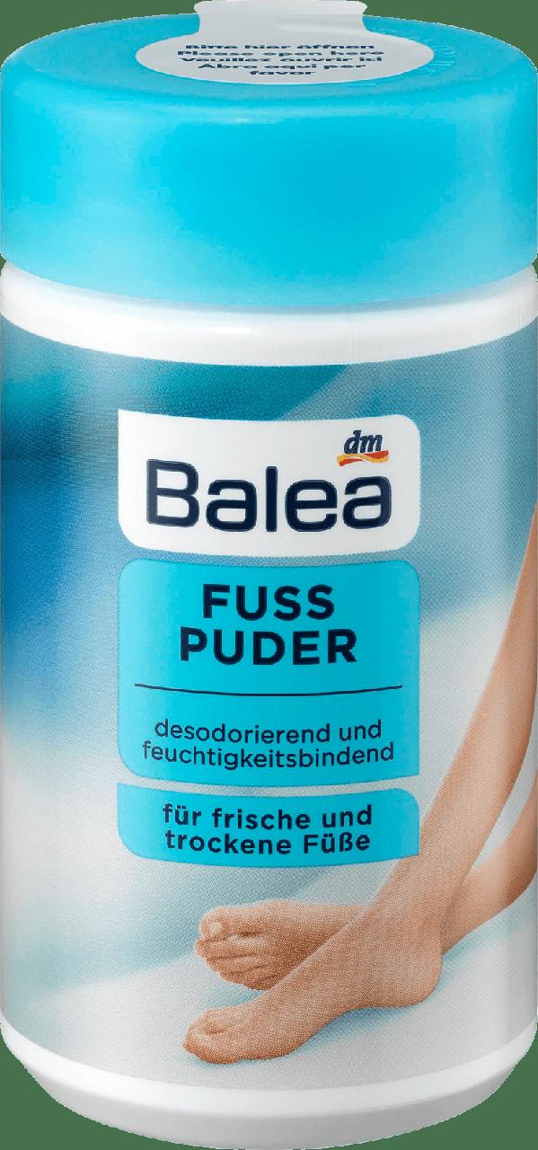 Пудра для ног Balea Fuß Puder, 100g.