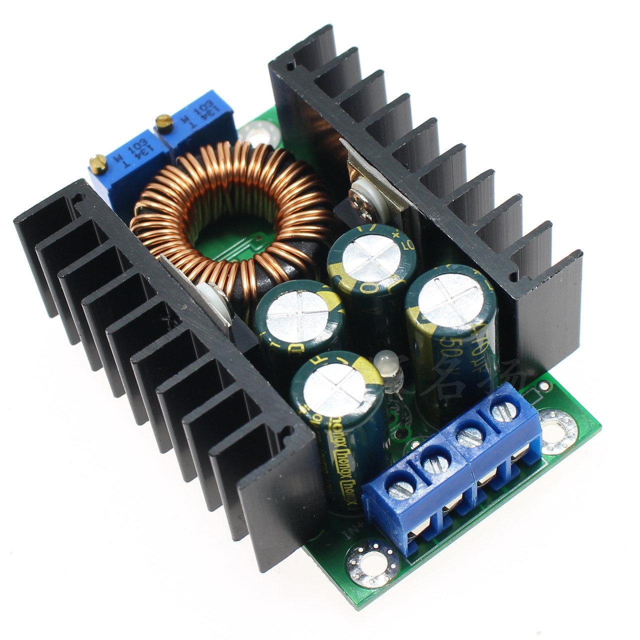 Регулируемый понижающий 8А преобразователь на XL4016E1, с регулировкой тока и напряжения