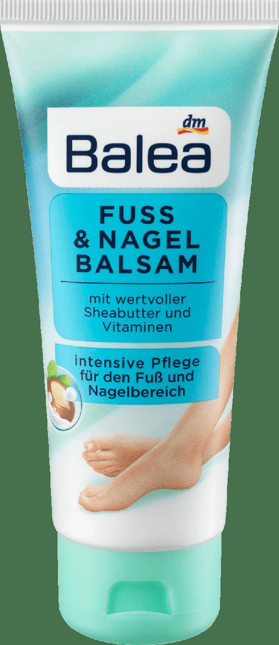 Бальзам для ног и ногтей Balea Nagelbalsam Intensive Pflege, 100ml.