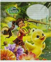 """Зошит """"Disney Fairies-3"""" 12 арк. лінія"""