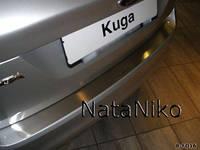 Накладка на бампер Ford KUGA с 2008-  (NataNiko)