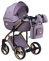 Дитяча універсальна коляска 2 в 1 Adamex Luciano Polar Gold Y811