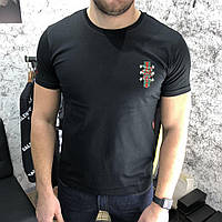 T-Shirt Gucci With Web Crest Kingsnake Black, фото 1