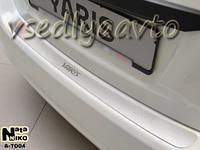 Накладки на бампер Тойота YARIS III 5-дверка с 2011- (NataNiko)
