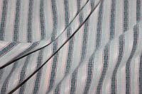 Ткань бенгалин , летний -растяжение по долевой! джинсовое плетение нити № 681, фото 1
