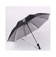 Черный зонт-бутылка, фото 1