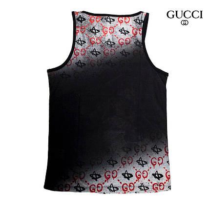 Яркая брендовая майка GUCCI Реплика Мужская одежда, фото 2