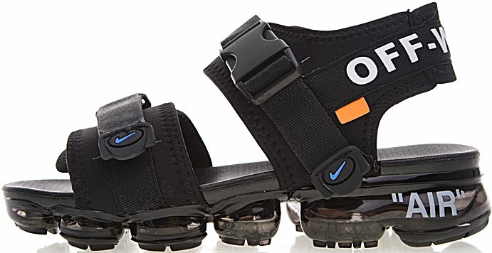 """Мужские сандали Nike x Off White Sandals """"Black"""" ( в стиле Найк )"""