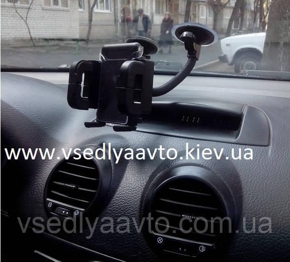 Держатель телефона на гибкой ножке 003A (40-110мм)