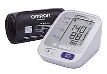 Тонометр OMRON M3 Comfort (HEM-7134-E) с уникальной манжетой Intelli Wrap + адаптер S